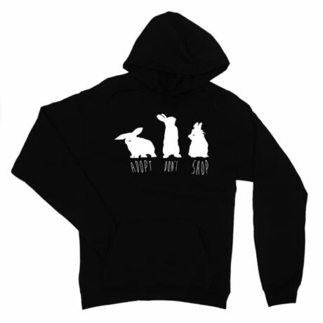 Adopt don't shop bunny női pulóver