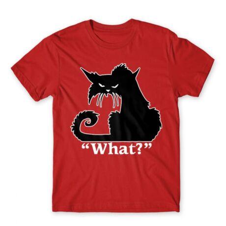 What? macskás póló