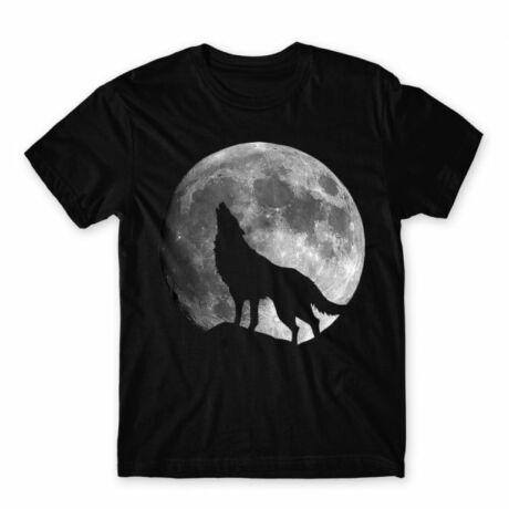 Moon wolf férfi póló