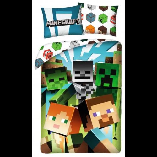 Minecraft Alex, Steve és a szörnyek ágyneműhuzat
