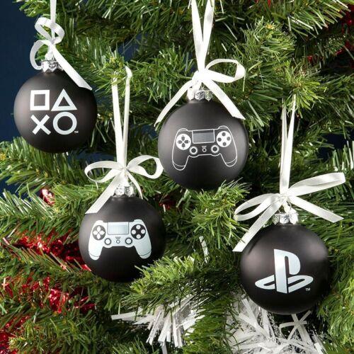 Playstation karácsonyfadísz szett