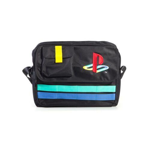 PlayStation Retro Logo oldaltáska