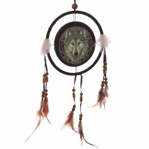 Lisa Parker - Farkas fej álomfogó 16 cm