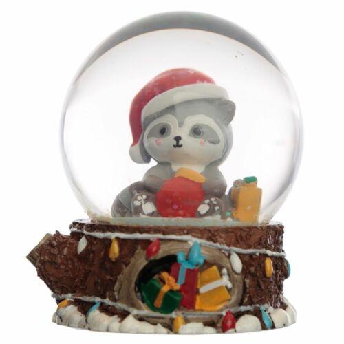 Karácsonyi cicás hógömb