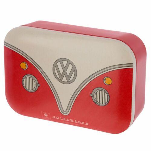 VW piros minibusz bambusz ételhordó