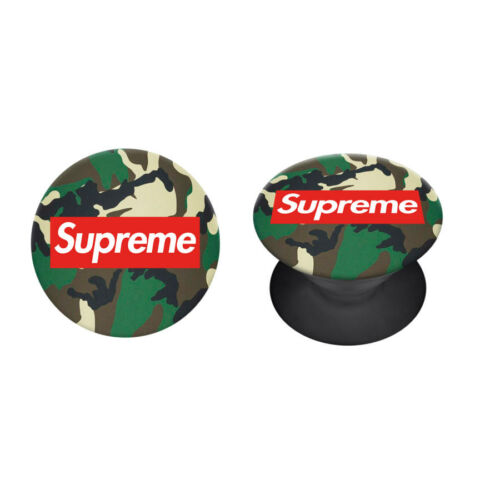Supreme - Camouflage  - Pop Holder (Ujj támasz)
