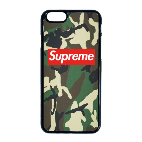 Supreme - Camouflage  - iPhone tok - (többféle)