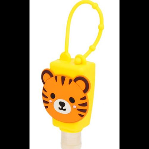 Tigris kézfertőtlenítő szilikon tartóban