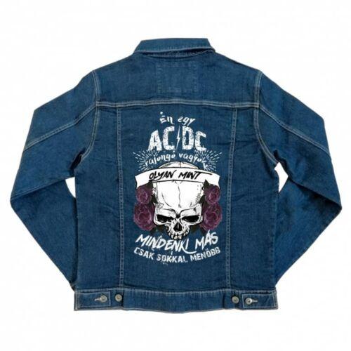 AC/DC rajongó - unisex farmerkabát