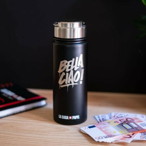 A nagy pénzrablás - Bella Ciao vizes palack