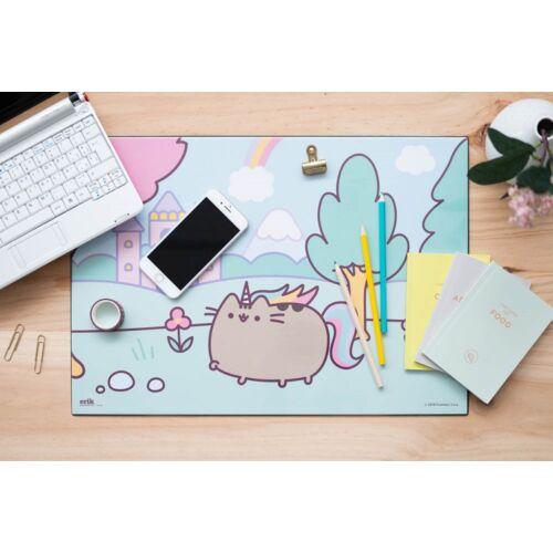 Pusheen cica asztali füzetalátét