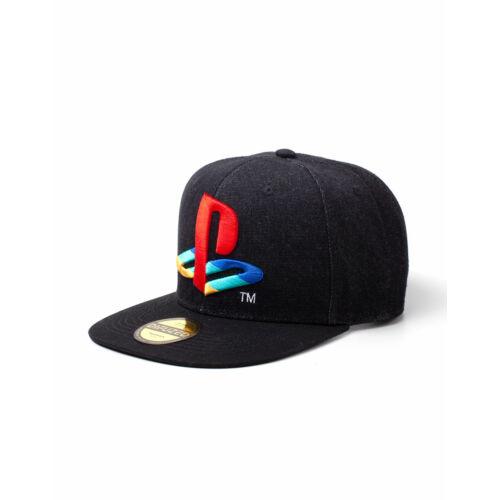 Playstation Logo Denim baseball sapka