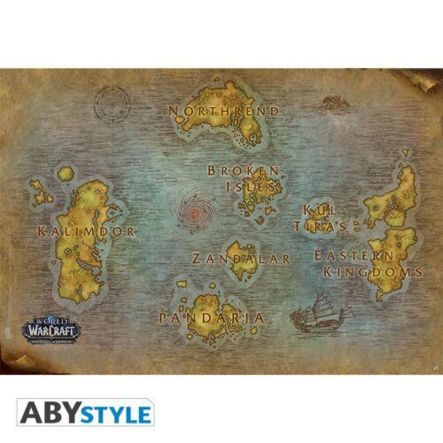 World of Warcraft - Map poszter