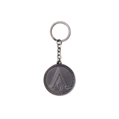 Assassin's Creed - Odyssey Silverfém kulcstartó