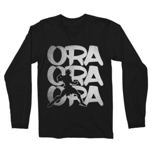 JoJo's Bizarre Adventure - Ora Ora Ora férfi hosszúujjú póló