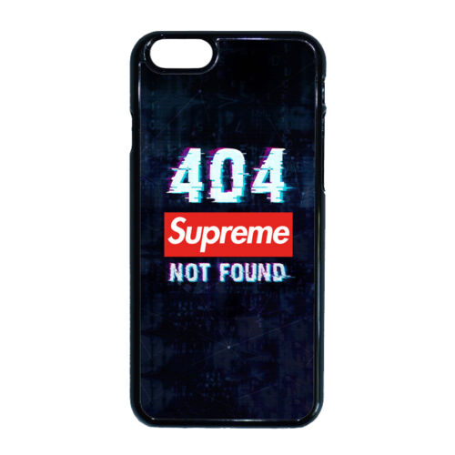 Supreme - 404 Not Found - iPhone tok - (többféle)