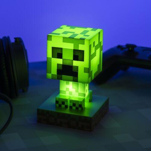 Minecraft Creeper 3D ikon hangulatvilágítás