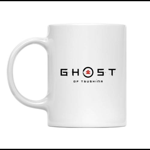 Ghost Of Tsushima fehér bögre