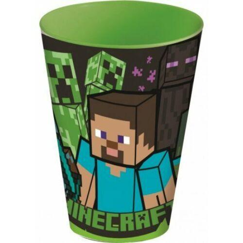 Minecraft nagy műanyag pohár