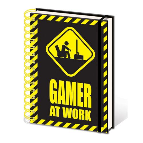 Gamer jegyzetfüzet