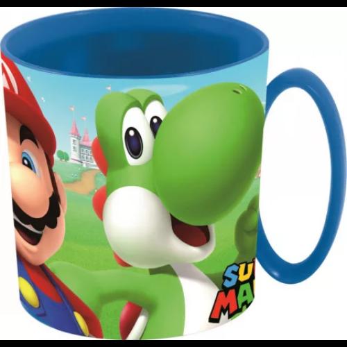 Super Mario műanyag bögre