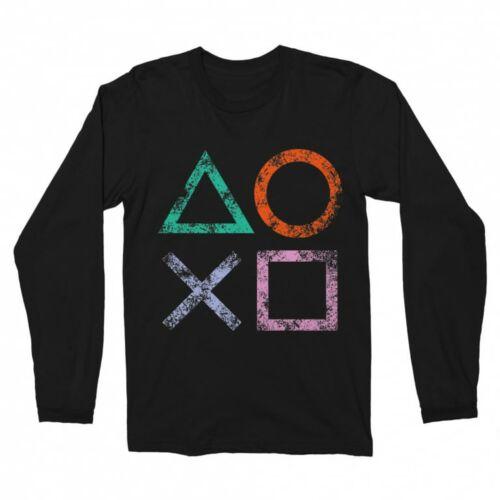 Playstation férfi hosszúujjú póló
