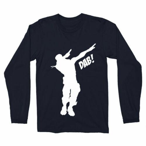Fortnite Dab férfi hosszúujjú póló