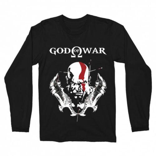 God of War -Kratos férfi hosszúujjú póló