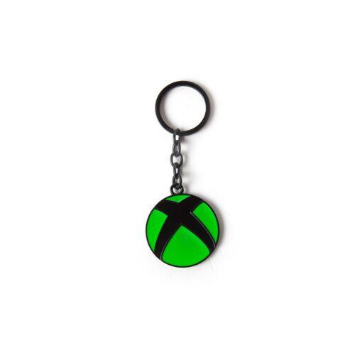 Xbox logo fém kulcstartó