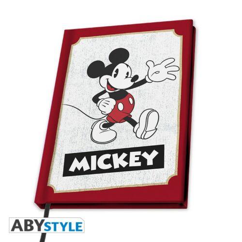 Disney - Mickey A5 nosztalgia jegyzetfüzet