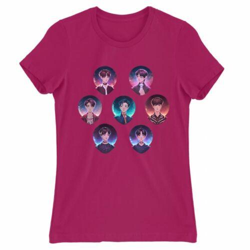BTS fanart női póló