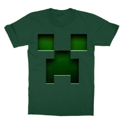 Minecraft Creeper gyermek póló
