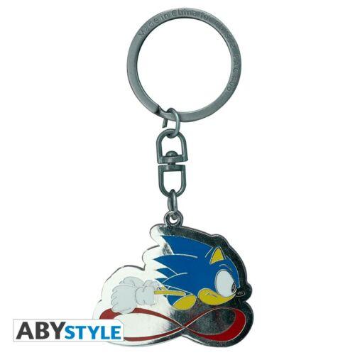 Sonic speed fém kulcstartó