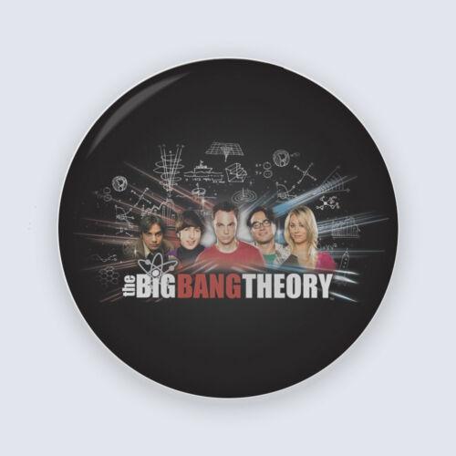 Agymenők  Big Bang kitűző