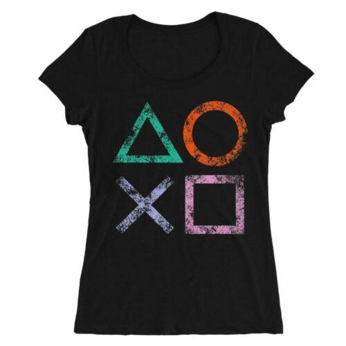 Playstation női O-nyakú póló