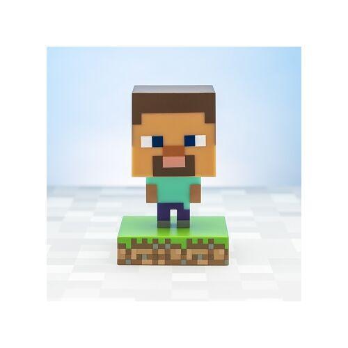 Minecraft Steve 3D ikon hangulatvilágítás