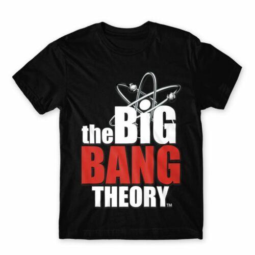 The Big Bang Theory logó férfi póló