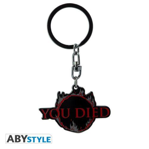 Dark Souls - You Died fém kulcstartó
