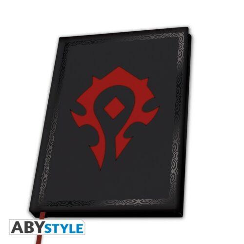 """World of Warcraft - """"Horde"""" jegyzetfüzet"""