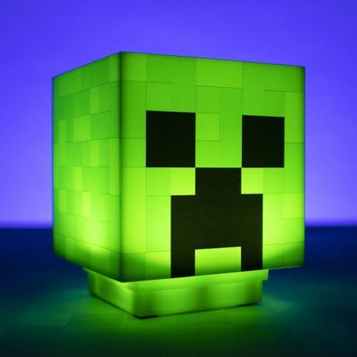 Minecraft Creeper lámpa