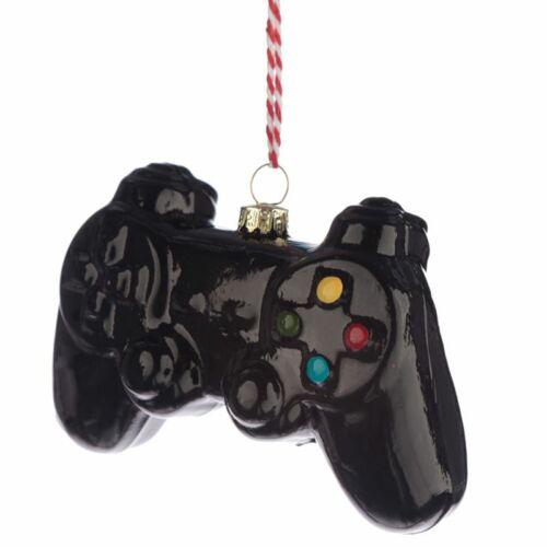 Game Over kontroller formájú karácsonyfadísz