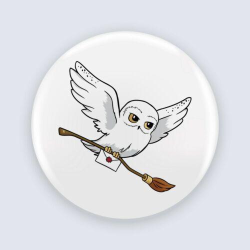 Harry Potter - Hedwig kitűző
