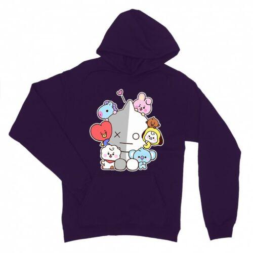 BTS Galaxy logó női pulóver