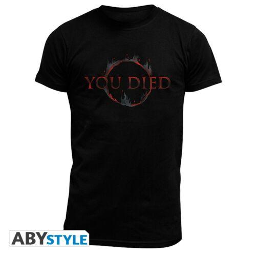 Dark Souls - You died férfi póló