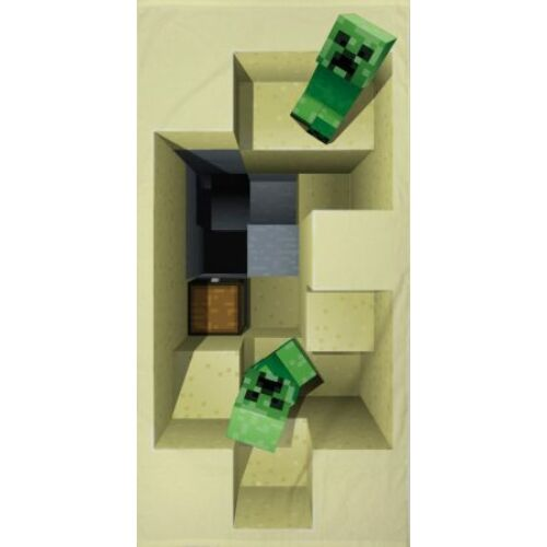 Minecraft fürdőlepedő