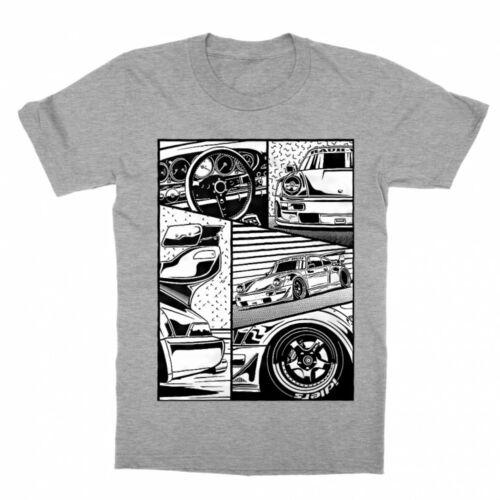 Racecar comic - gyerek póló