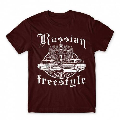 Russian Freestyle - férfi póló
