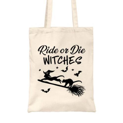 Ride or Die Witches vászontáska