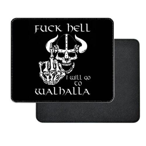 Én a Valhallába megyek - viking műbőr egérpad