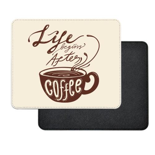 Kávé műbőr egérpad